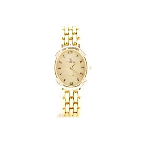 relojes mujer festina oro
